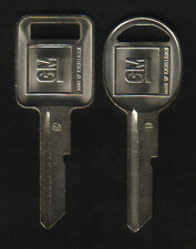 GM 2 1968 1972 1976 1980 Logo Key Blanks