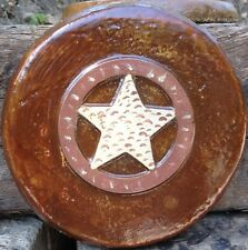 Cowboy Star 8, stepping stone,  plastic mold, concrete mold, cement, plaster
