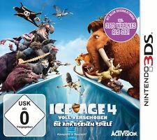 Ice Age 4 movido plenamente Nintendo 3ds nuevo con embalaje original completamente alemán