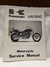 New NOS OEM Kawasaki Service Manual VN1500 Vulcan 1987 - 1999 99924-1078-08