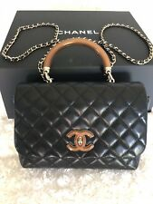 *SOLD OUT* 2018 NWT Authentic Chanel Knock on Wood Top Handle Bag