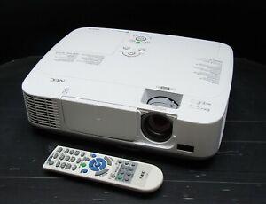 NEC NP-M230X HDMI VGA LAN XGA HDTV LCD Projector with New Lamp / Bulb and Remote