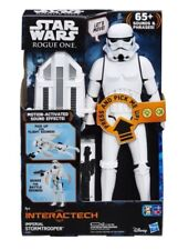 """65 Sounds Star Wars 12"""" Interactech Imperial Stormtrooper Kid Christmas Gift Fig"""