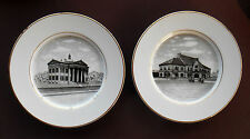 MAHONING VALLEY HISTORICAL SOCIETY Souvenir Plates YOUNGSTOWN OHIO B&O RR Rayen