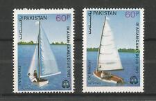 PAKISTAN 1983 YACHTING CHAMPIONS SG,619-620 UN/MM NH LOT 1936A