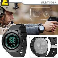 NORTH EDGE Men's Outdoor Sports Smart Digital Military Watch Compass Thermometer