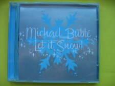 MICHAEL BUBLE-LET IT SNOW. 5 TRACK CHRISTMAS CD SINGLE. CROONER. EX CON