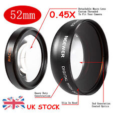 52MM 0.45X Wide Angle HD Lens with Macro for NIKON D5300 D5200 D5100 D5000 D3300