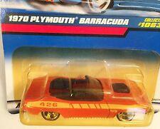 1970 Plymouth Barracuda Convertible 426 ci   HOT WHEELS Collector Series #1063