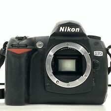 Nikon D70 6.1MP Digital SLR Camera Black Body Only from Japan [KC]