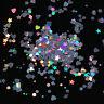 Holographic Nail Art Glitter Sequins Rhombus Round Star Flakies 1.5g Born Pretty