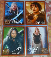 The Lord of the Rings - 4 Vintage Magazine Postcards Collection