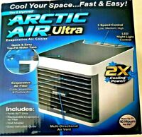 ARCTIC AIR ULTRA PORTABLE IN HOME & CAMPiNG AIR COOLER AS SEEN ON TV (NEW)