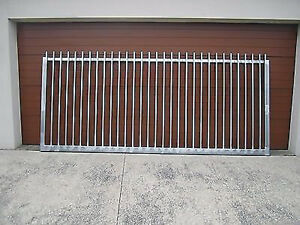 STEEL PICKET  SECURITY TYPE SLIDING GATE  , GATES CAN BE CUSTOM MADE TO SUIT