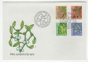 1974. Commemorative Cover. Pro Juventute Issues.