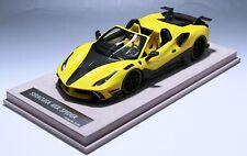 1/18 Ferrari 488 Siracusa 4XX Spider in Yellow limited 40 pcs  N BBR or MR