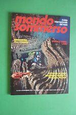 Magazine MONDO SOMMERSO N. 222 DEL 1978 Rivista internazionale del mare