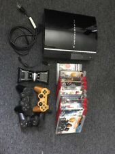 Sony PlayStation 3 Launch Edition 60GB Piano Black Console Bundle