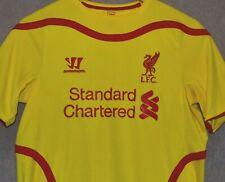 Liverpool FC 2014 2015 Away T-shirt Jersey Warrior Camiseta Size YXL like S Kit