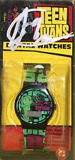 SIGNED by Beast Boy/Greg Cipes! Teen Titans Beast Boy Vintage Digital Watch!