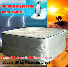 customize hot tub cover cap size195 cm x 195 cm x 90cm. cm spa cover sun shield