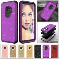 Luxury Bling Glitter Hybrid Shockproof Case Cover For Samsung S9 Plus Note 8 9