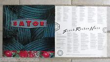 Sator – Stock Rocker Nuts   Vinyl  LP EFA records germany  + orig. inner jacket