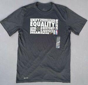 NWT Nike Dri-Fit NBA Players Association Equality I Have A Dream T-shirt Sz LT
