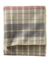 "Pendleton 66"" x 96"" Eco-Wise 100% Virgin Wool Blanket Twin Blush/Grey"