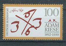 BRD Briefmarken 1992 Adam Riese Mi.Nr.1612** postfrisch