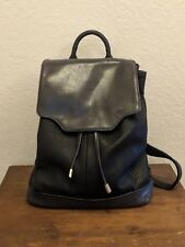 Moda Luxe Black Handbag Large Backpack Style Purse