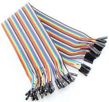40 Dupont Prototype Cable Female/Female Hembra/Hembra 200mm Arduino
