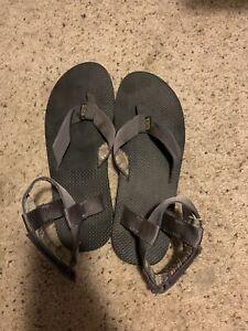 Teva Sandals Grey Mens Size 14 EF03114L