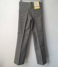 vintage wrangler railroad stripe jeans student size 12 deadstock NWT 70s