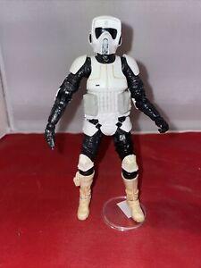 "Star Wars Black Series 6"" Inch Imperial Biker Scout Loose Figure"