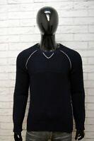 Maglione Cardigan Uomo Energie Taglia S Pullover Lana Blu Felpa Sweater Man