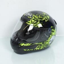 Casque intégral de moto pour enfant Torx Taille S modèle Bobby Bee Black neuf