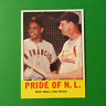 1963 Topps #138 PRIDE OF N.L. Willie Mays - Stan Musial * PSA Quality * (T174)
