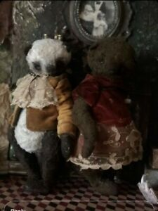 Panda. Teddy Bear. Handmade. Stuffed toy. New. OOAK.