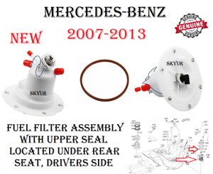 Fuel Filter Assembly For Mercedes C300 C350 CL550 E350 GLK350 S400 S550 GENUINE