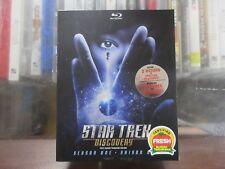BRAND NEW Star Trek Discovery Blu Ray Season 1