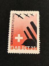 Suisse Vignette Aviation 1940 FLAB.DET.25 Neuf*