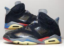 Nike Shoes - 2009 Jordan 6 VI Detroit Pistons - Black Red Bred Blue - Size 13