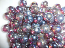 "100 9/16"" Light  Amethyst   Glass Decorative MARBLES"