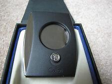 Colibri Eclipse Cigar Cutter - Black & Chrome - New
