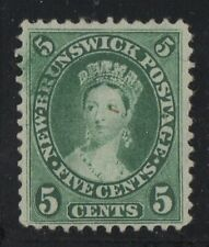 MOTON114     #8 New-Brunswick Canada mint no gum well centered XF