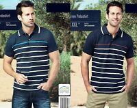 Herren Poloshirt Shirt T-Shirt Kragen kurzarm Knopfleiste Freizeitshirt Öko-Tex