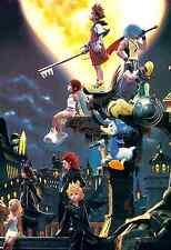 """❤️ Kingdom Hearts Poster Silk art wall decor 13x19"""" KDH20.1"""