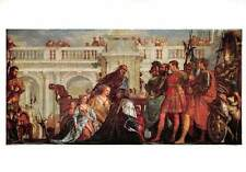 Veronese Paolo, The Fmaily of Darius before Alexander Postcard