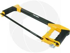 12inch 300mm Aluminum Hand Hack Saw Handsaw Frame Dual Rubber Handles with Blade